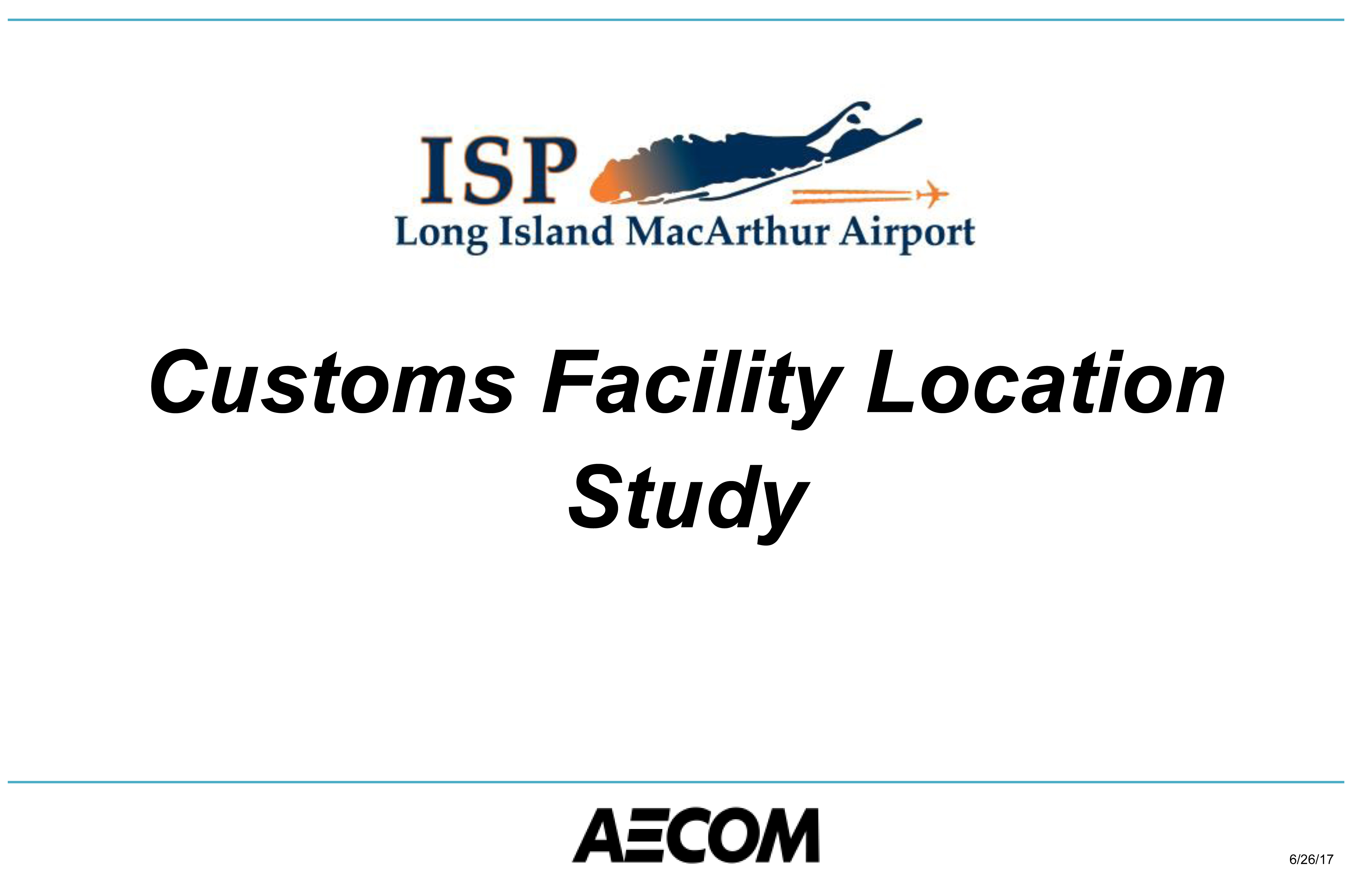 This image leads to a pdf of the Airport's Feasibility Study for the Construction of a US Customs Facility